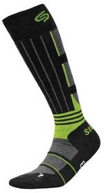 Носки унисекс InMove Ski Deodorant Silver black/green