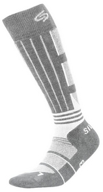 Носки унисекс InMove Ski Deodorant Silver graphite/white