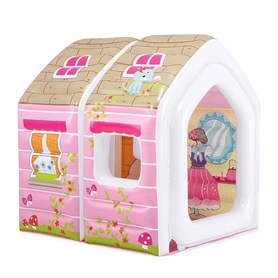 Центр игровой надувной Intex 48635 Princess Play House (124х109х122 см)