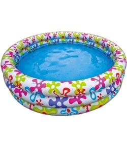 Бассейн надувной детский Intex 56440 Цветочный круг (168х41 см)