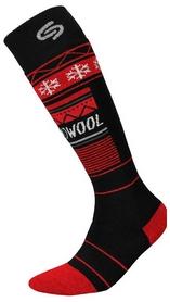 Носки мужские InMove Ski Deodorant Thermowool black/red