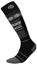 Носки мужские InMove Ski Deodorant Thermowool black/grey