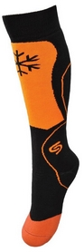 Носки детские InMove Ski Kid black/orange
