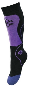 Носки детские InMove Ski Kid black/violet