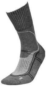 Носки унисекс InMove Trekking Deodorant graphite/grey