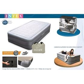 Фото 2 к товару Кровать надувная односпальная Intex 64472/64482 (99х191х46 см)