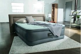 Фото 2 к товару Кровать надувная двуспальная Intex 64474/64486 (203х152х46 см)