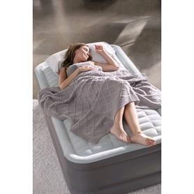 Фото 8 к товару Кровать надувная двуспальная Intex 64474/64486 (203х152х46 см)