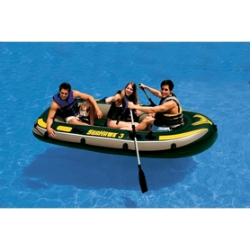 Фото 4 к товару Лодка надувная Intex Sea Hawk 68380