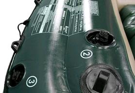 Фото 6 к товару Лодка надувная Intex Sea Hawk 68380