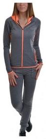 Костюм спортивный женский Avecs 30136-AV серо-оранжевый
