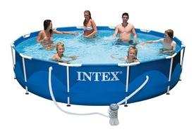 Бассейн каркасный Intex 28212/28712 (366х76 см) с фильтрующим насосом