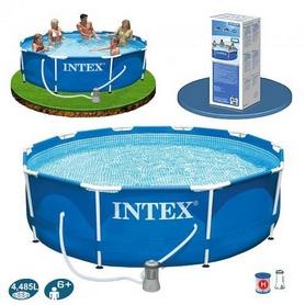 Бассейн каркасный Intex 28202/28702 (305х76 см) с фильтрующим насосом