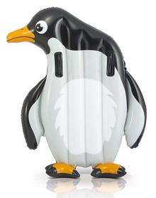 Плотик детский Intex 58151 Animal Riders 58151 (114х112 см) Пингвин