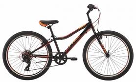 """Велосипед подростковый горный Pride Brave 7 2018 - 24"""", рама - 16"""", черный (SKD-19-86)"""