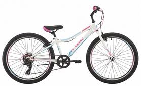 """Велосипед подростковый горный Pride Lanny 7 2018 - 24"""", рама - 10"""", белый (SKD-12-00)"""