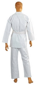 Фото 3 к товару Кимоно для карате Сombat Budo белое + пояс в подарок