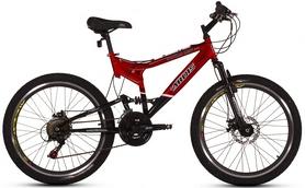"""Велосипед подростковый горный Ardis Striker 777 AMT 24"""" красный, рама - 17"""""""