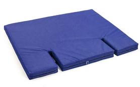 Распродажа*! Мат гимнастический с вырезом под шведскую стенку ZLT 120х100х8 см синий