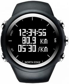Часы спортивные North Edge X-Trek (GPS) черные