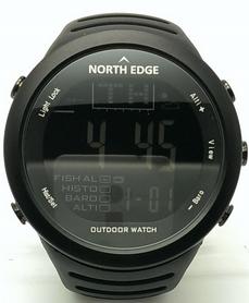 Часы для рыбалки North Edge 720 черные