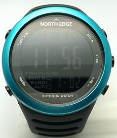 Часы для рыбалки North Edge 720 голубые