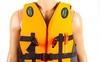 Жилет спасательный Dorfin (ZLT) черно-оранжевый - фото 2
