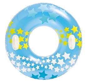 Круг надувной Intex 59256 (91 см) голубой