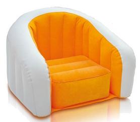 Кресло надувное детское Intex 68597 (69x56x48 см) оранжевое