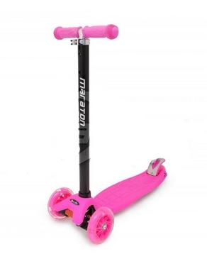 Самокат трехколесный Maraton Scooter 99 розовый