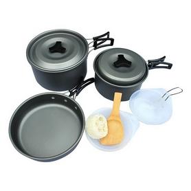 Набор посуды туристический Mountain Outdoor Соокing Set DS-300