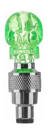 Фонари на ниппели велосипедные Cyclotech CNL-2GR зеленые