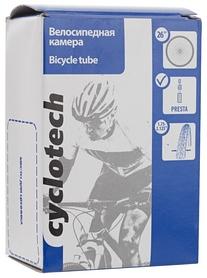 """Камера велосипедная с автониппелем Cyclotech CTUBE-26P 26"""""""