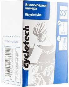 """Камера велосипедная с велониппелем Cyclotech CTUBE-275P 27,5"""""""