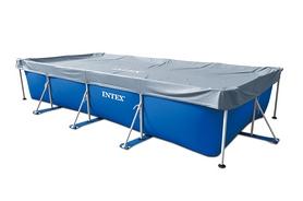 Тент для бассейна прямоугольный Intex 28039 (460х226 см)