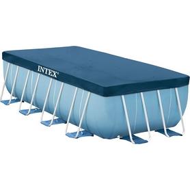 Фото 1 к товару Тент для бассейна прямоугольный Intex 28037 (400х200 см)