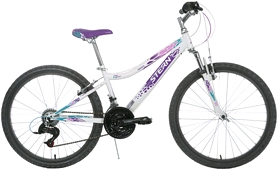 "Велосипед подростковый горный Stern Leelloo - 24"", рама - 15"", белый (17LEE24)"