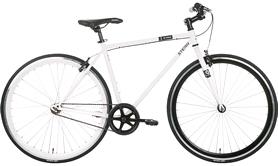 "Велосипед городской Stern Q-stom - 28"", рама - 54 см, белый (17QSTOM54)"