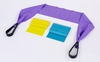 Эспандер ленточный с ручками Pro Supra LY-320-3 1,2 м - фото 3