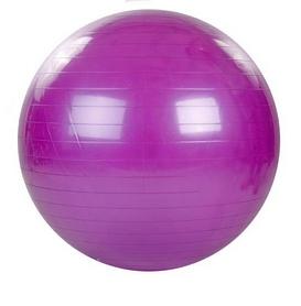 Мяч для фитнеса (фитбол) 65 см HMS фиолетовый