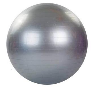 Мяч для фитнеса (фитбол) 65 см HMS серый