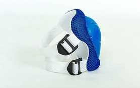 Фото 3 к товару Защита для катания детская (комплект) ZLT SK-4504-BL синяя