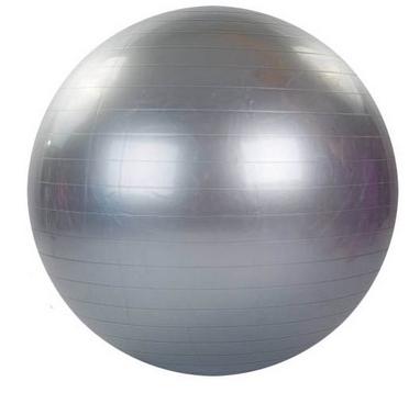 Мяч для фитнеса (фитбол) 75 см HMS серый