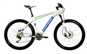 "Велосипед горный Corratec X-Vert 650B Expert 27,5"" 2016 white/blue/green, рама - 54 см"