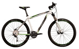 "Велосипед горный Corratec X-Vert S 650B Expert 27,5"" 2015 white/lime green/black, рама - 49 см"
