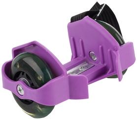 Ролики на пятку Reaction Shoes rollers RRSH-PL 75 кг сиреневые