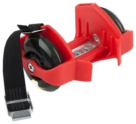 Ролики на пятку Reaction Shoes rollers RRSH-R 75 кг красные