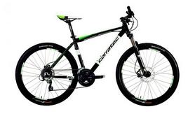 """Велосипед горный Corratec Halcon 650B Disc 27.5"""" 2016 черный, рама - 39 см"""