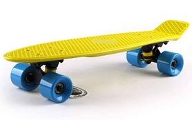 Пенни борд Penny Original Fish SK-401-4 желтый/черный/голубой