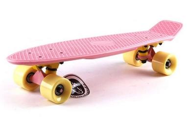 Пенни борд Penny Original Fish SK-401-9 розовый/желтый